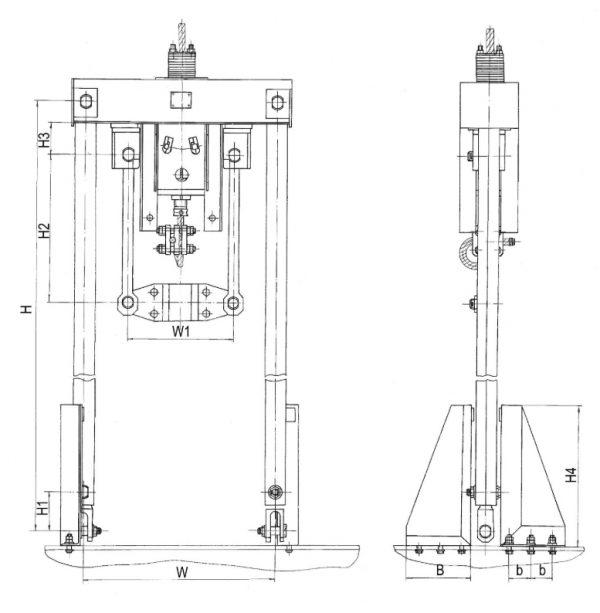 Общий вид подвесных устройства ПУМ