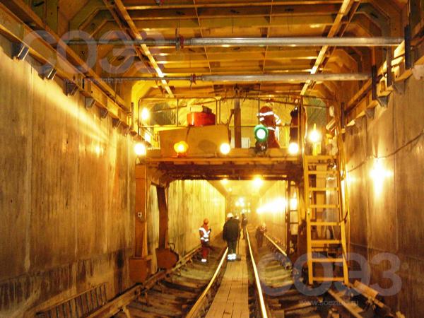 Перегонный тоннель метро (Платформа №1)