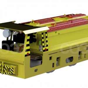 Электровозы аккумуляторные рудничные повышенной надежности против взрыва и взрывобезопасные