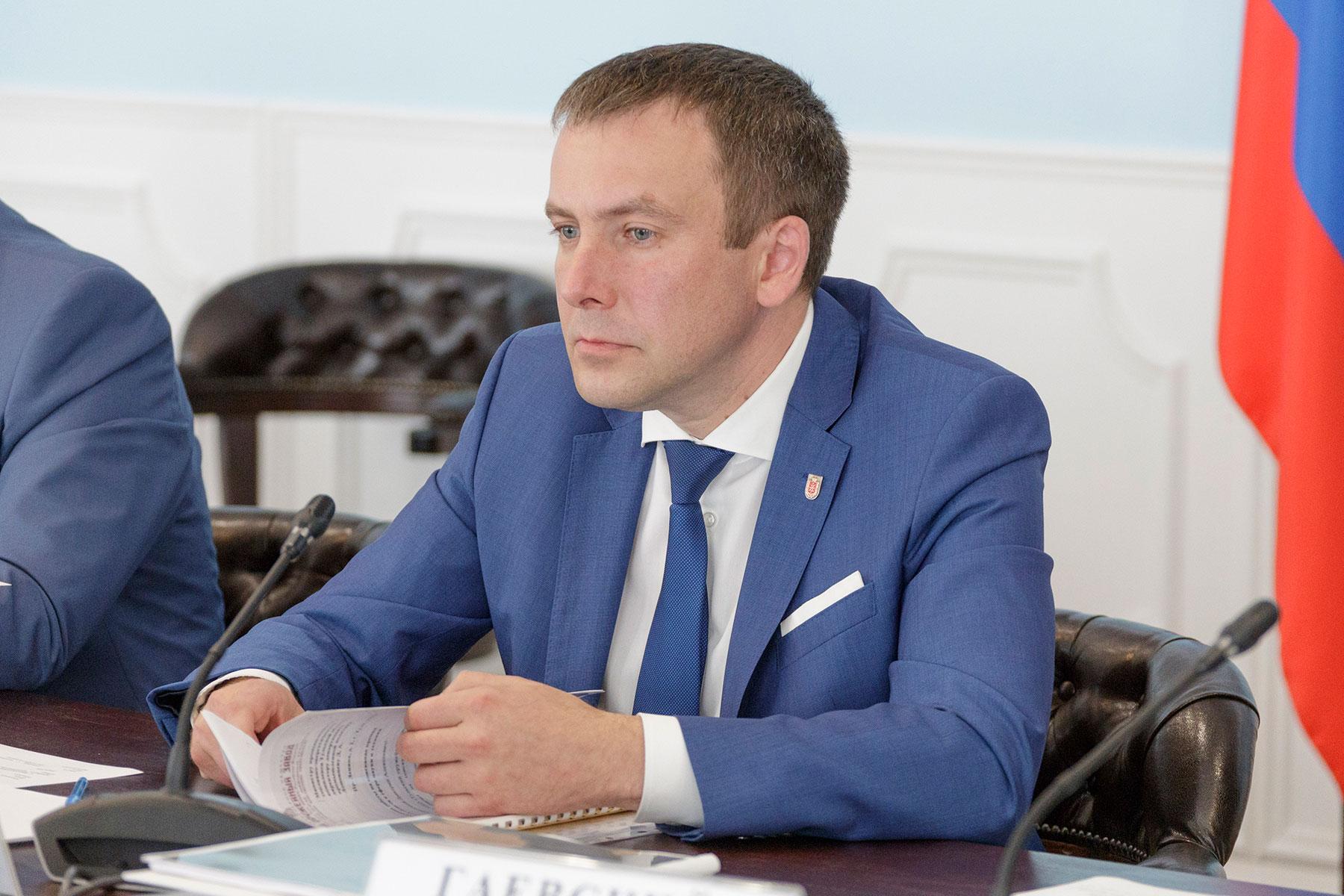 Министр промышленности и науки Тульской области Андрей Платов